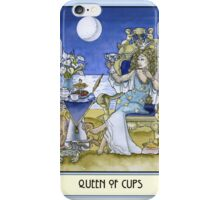 Queen of Cups, Card iPhone Case/Skin