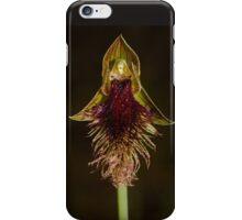 Purple Bearded Orchid. iPhone Case/Skin
