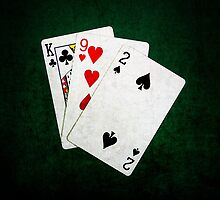 Blackjack 21 point - King, Nine, Two by luckypixel