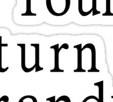 If found, return to Thranduil Sticker