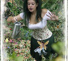 The Garden Keeper Fairy by Harri