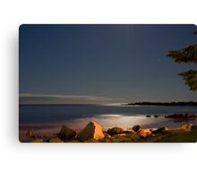 White Point At Night II Canvas Print