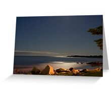 White Point At Night II Greeting Card