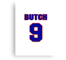 Basketball player Butch Beard jersey 9 Canvas Print