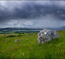 Ox Mountains from Knocknarea Co. Sligo by Tony Murphy
