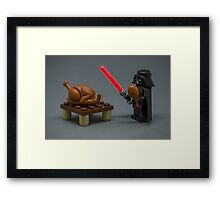 I am you Carver. Framed Print