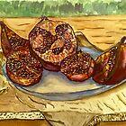 pomegranate ripe. by zangi12