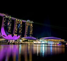 Singapore on the Bay by tpixx