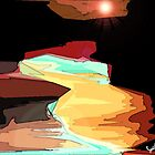 Sunset Beach by BLACKSHEEP ONE