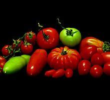 Tomatoes by jerry  alcantara