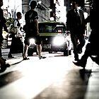 Zebra Crossing: Ikebukero, Tokyo, Japan by Alfie Goodrich