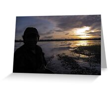 Sunrise in the Amazon Greeting Card