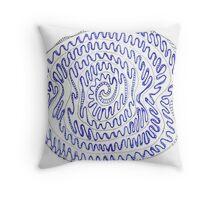 Spiral - Like Life Throw Pillow