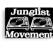 Junglist Movement Canvas Print