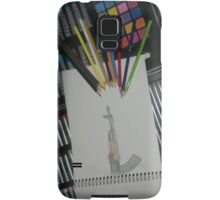 Art against the gun Samsung Galaxy Case/Skin