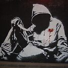 Cans art festival. Banksy. by laurac