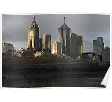 Postcard Metropolis  Poster