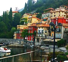 Varenna Harbor by SylviaCook