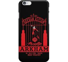 Arkham Absinthe Red Velvet iPhone Case/Skin