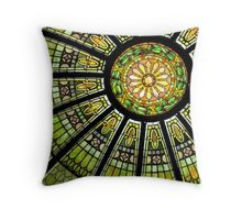 *Stained Glass Dome* Throw Pillow