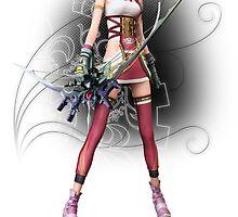 Fantasy XIII-2 - Serah Farron by IzayaUke