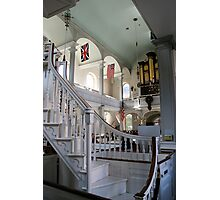 Inside Old North Church Photographic Print