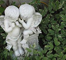 Whispering Cherubs by gypsykatz