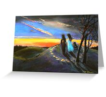 Collaboration with Redbubble Author, Enivea .....Dancing in the Dawn Greeting Card