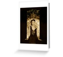 Roaring 20´s Silent Movie Star Beatrice Lillie Greeting Card