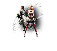 Final Fantasy XIII-2 - Lightning (Claire Farron) and Serah Farron Photographic Print