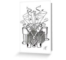 The Machine No. 1 Greeting Card