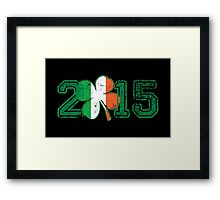 2015 St Patrick's Day Framed Print