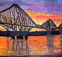 The Forth Bridge by GEORGE SANDERSON