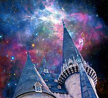 hogwarts castle & the dark mark. by Diana Kelly