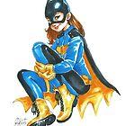 Bat Girl by AmberDust