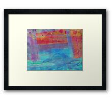 Wandering Dream Framed Print