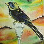 hey birdbrain by giantrabbit