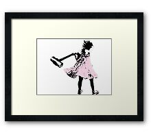 Hammer girl - Switched at Birth Framed Print