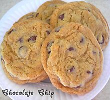 Chocolate Chip Cookies by ladyvanessa