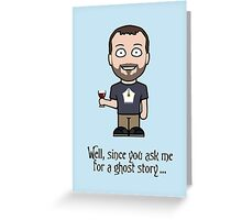 John Finnemore (postcard) Greeting Card