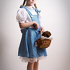 Girl Dressed Up as Dorothy by Amber Leigh Summers