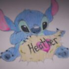 she didnt deserves this... at all. but i love stitch lol by sevastra87