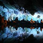 Cave Reflections in China by Maureen Clark