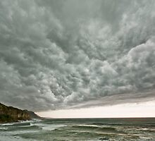 Summer Coastal Storm by coalcliff