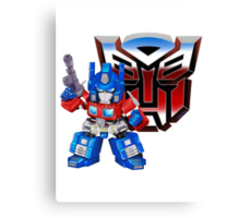 SD Optimus Prime Canvas Print