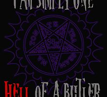 Simply one hell of a butler by Mollie Barbé