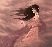 Raia: Elven Summoner by AmberDust
