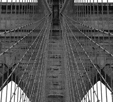 Brooklyn Bridge - Aged Beauty by ScottL
