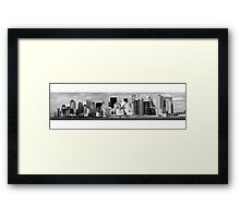 Views from the Ferry - New York Framed Print