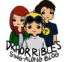 Dr. Horrible's Sing-Along Blog Photographic Print